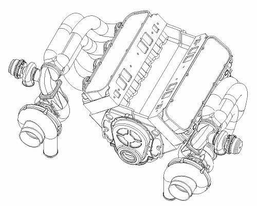 Twin Turbo Motor